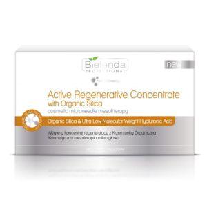 Aktywny koncentrat regenerujący z krzemionką organiczną do mezoterapii mikroigłowej ampułki 10x3ml Bielenda Professional Med
