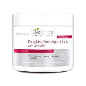 Maska algowa energetyzująca z Acerolą 200g Bielenda Professional