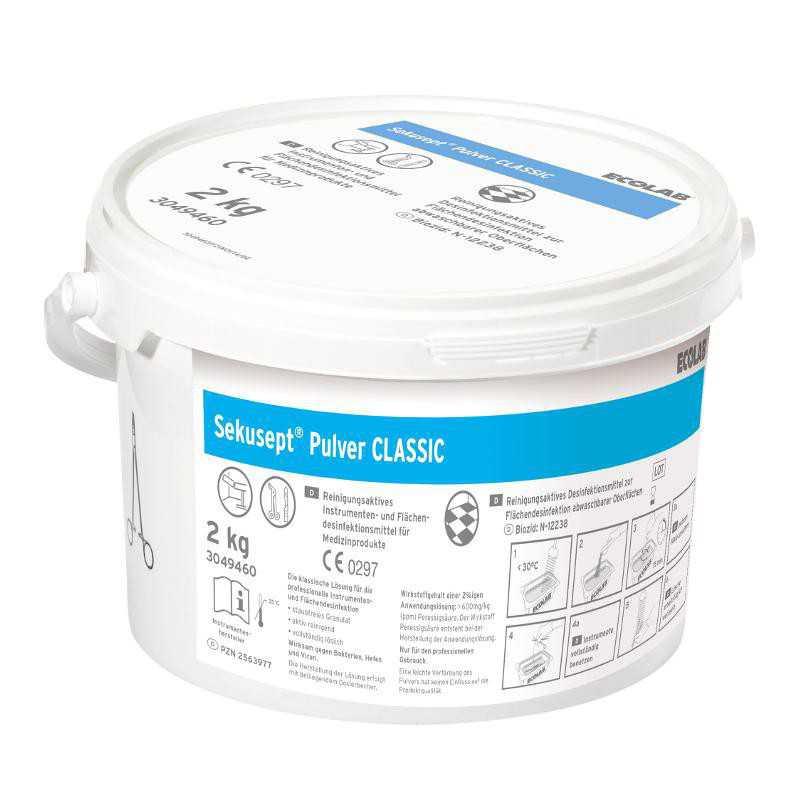 Proszek do dezynfekcji narzędzi Sekusept Pulver Classic 2 kg