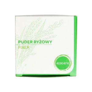 Puder do twarzy ryżowy fixer utrwalacz makijażu 15 g Ecocera