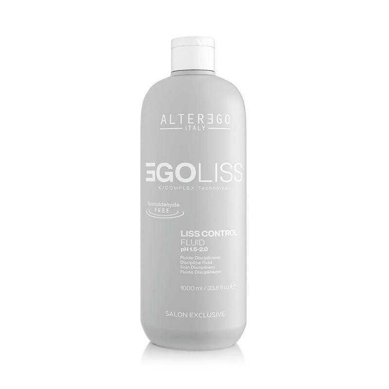 Kuracja wygładzająca włosy keratyna K3 Technology 1000ml Alter Ego EgoLiss Control Fluid wygładzający