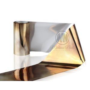 Folia transferowa nr 20 złota cieniowana 120x4 cm Modena Nails