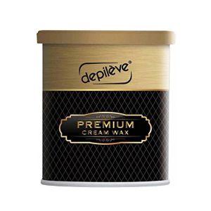 Wosk do depilacji bezpaskowy kremowy 800g w puszce Depileve Premium Cream Wax