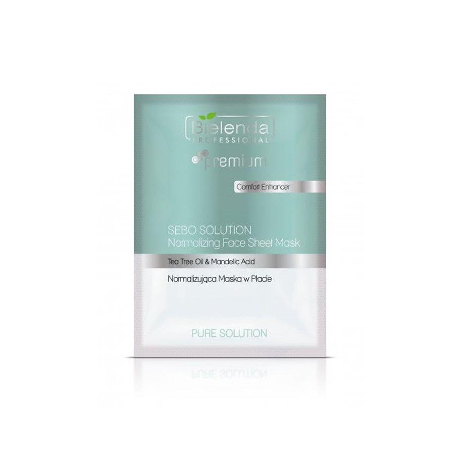 Kojąca maska w płacie 25 g Bielenda Pure Solution Face Sheet Mask