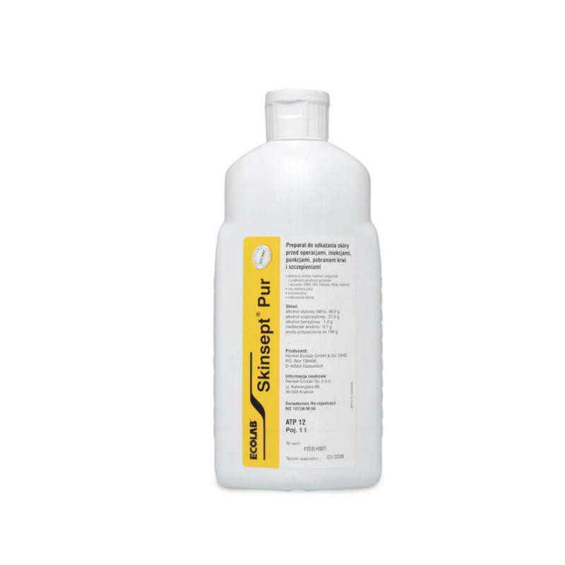 Płyn do odkażania dezynfekcji skóry 1000ml Skinsept Pur