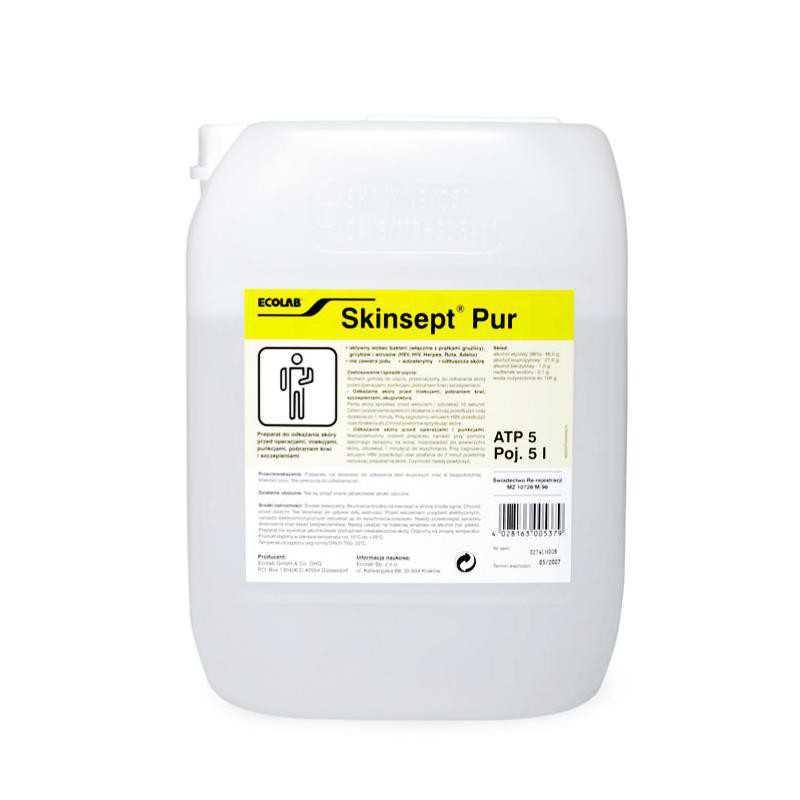 Skinsept Pure Płyn do odkażania skóry 5l