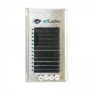 Rzęsy Jedwabne Silk D 0,07mm 12mm Art Lashes