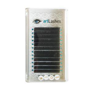 Rzęsy Jedwabne Silk D 0,07mm 12mm Art Lashes