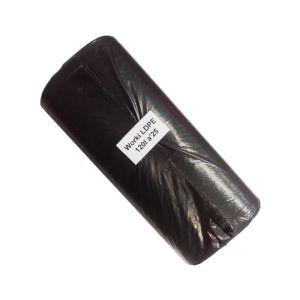 Worki na śmieci mocne 120L 25szt LDPE czarne