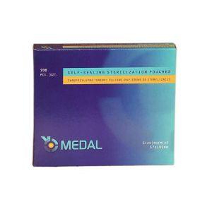 Torebki pakiety do sterylizacji 57x100mm 200szt Medal