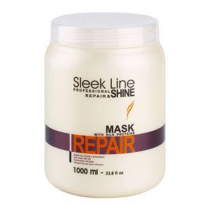 Maska z jedwabiem 1000ml regenerująca nawilżająca Stapiz Sleek Line Repair