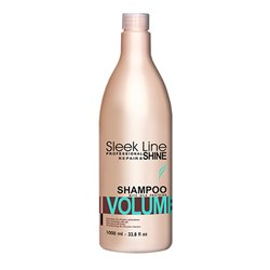 Szampon do włosów odżywiająca i dodający objętość 1000 ml Sleek Line Volume Stapiz
