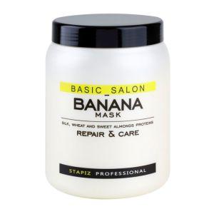 Maska bananowa do włosów z proteinami 1000 ml Professional Banana Stapiz