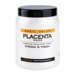 Maska do włosów z ekstraktem z bambusa 1000 ml Professional Placenta Stapiz