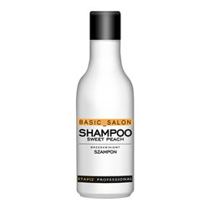Szampon brzoskwiniowy do włosów przetłuszczających się 1000ml Basic Salon Professional Stapiz