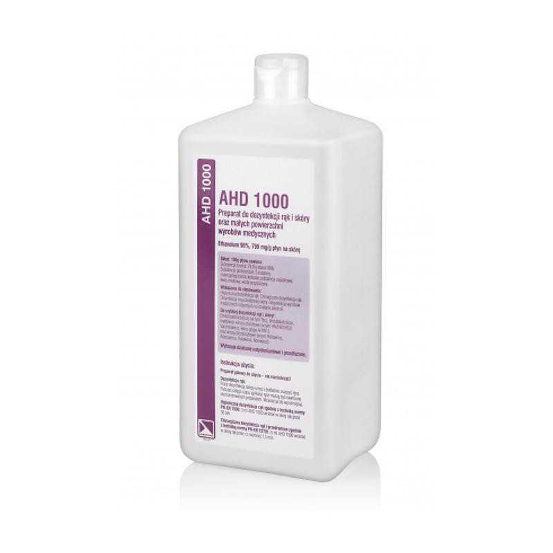 Preparat do dezynfekcji skóry 1L AHD1000