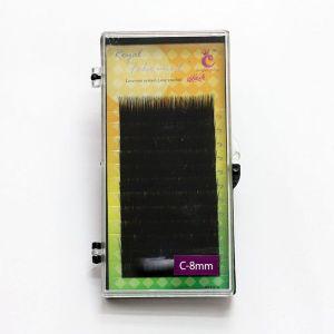 Rześy ROYAL MINK LASH - z norki C-8mm