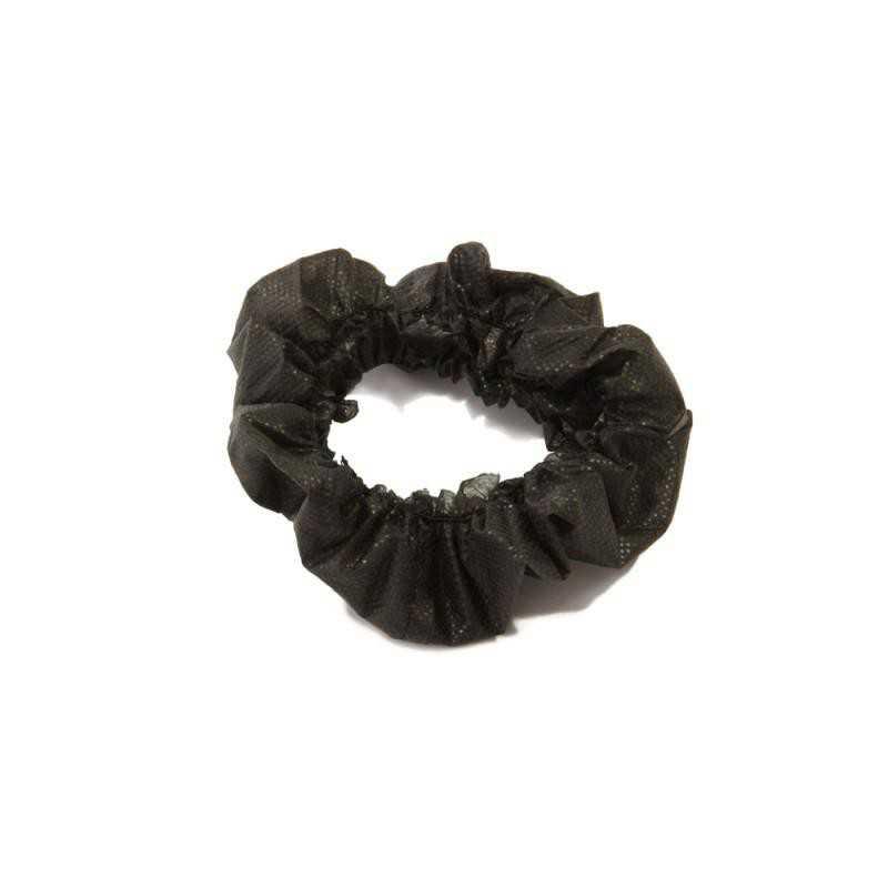 Opaski kosmetyczne czarne 10szt jednorazowe z włókniny