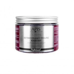 Peeling do ciała kawowy wiśniowy 300g Apis Professional