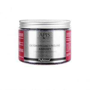 Peeling do ciała kawowy malinowy 300g Apis Professional