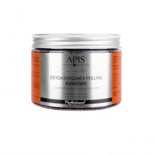 Peeling do ciała kawowy pomarańczowy 300g Apis Professional
