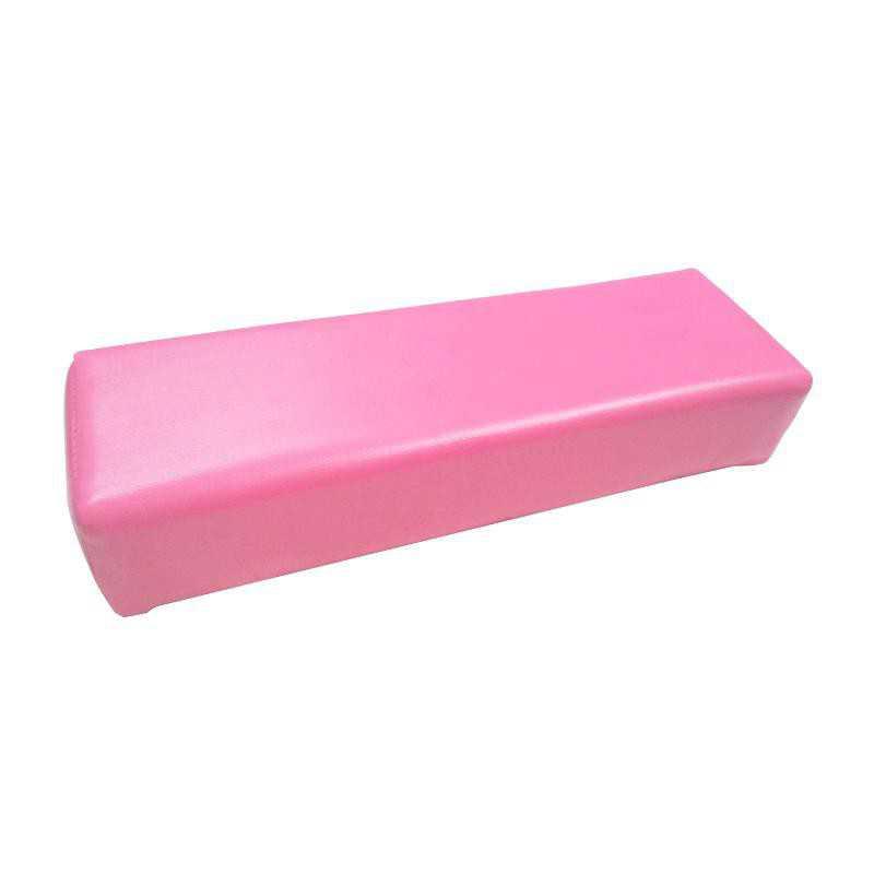 Poduszka pod dłoń do manicure różowa