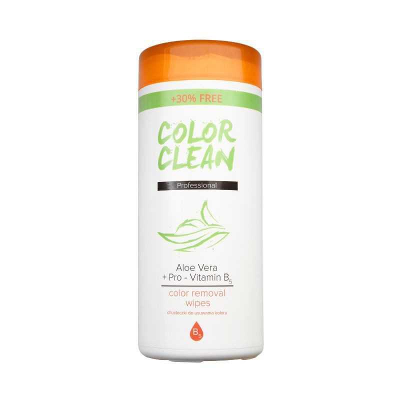 Chusteczki do zmywania farby COLOR CLEAN - 40szt,
