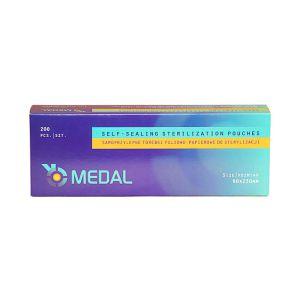 Torebki pakiety do sterylizacji 90x230mm 200szt Medal