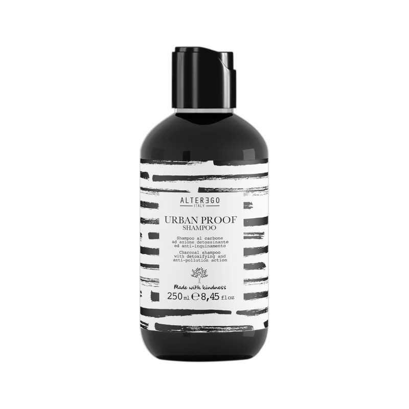Szampon do włosów oczyszczający 250ml z węglem aktywnym Alter Ego Urban Proof Shampoo