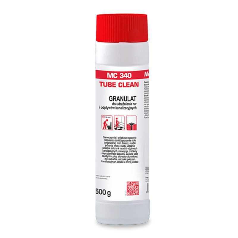 Granulat preparat do udrażniania rur 600g MC 340 Tube Clean