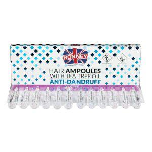 Ampułka do włosów przeciwłupieżowa lecznicza z piroktolaminą 10ml Ronney ampułki