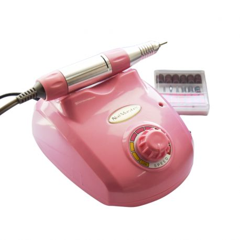 Frezarka do manicure i pedicure różowa 35W DM208 Nail Master
