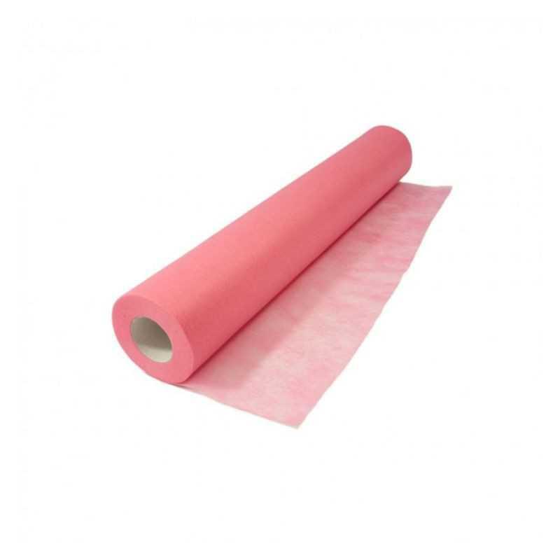 Podkład kosmetyczny economic różowy 50cm 60m prześcieradło z włókniny na łóżko