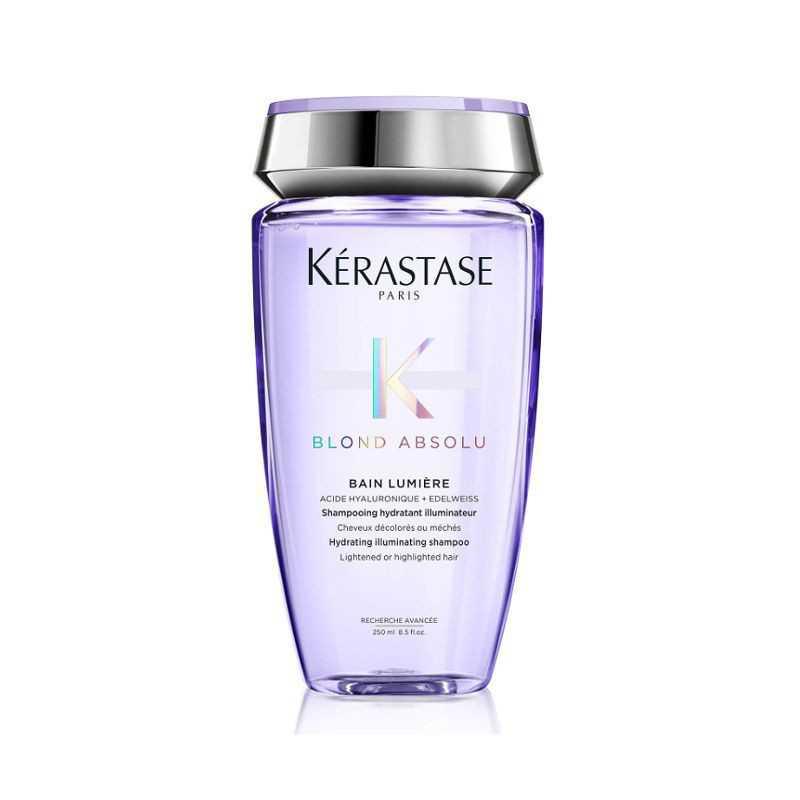 Kąpiel do włosów blond rozświetlająca nawilżająca 250ml Kerastase Absolu Lumiere szampon