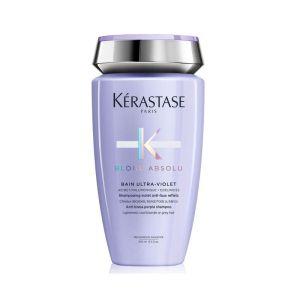 Kąpiel fioletowa do włosów blond 250ml Kerastase Absolu Ultraviolet szampon