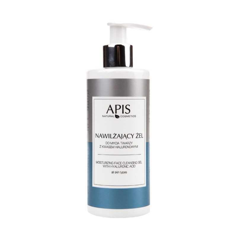 Żel do mycia twarzy nawilżający z kwasem hialuronowym 300ml Apis Professional