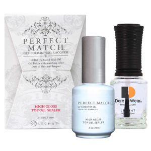 Perfect Match Set LED/UV High Gloss Top Gel Sealer