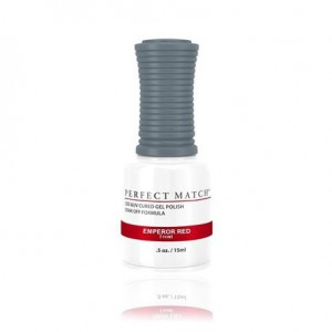 Lakier hybrydowy PMSI197 Emperor Red Perfect Match 15ml