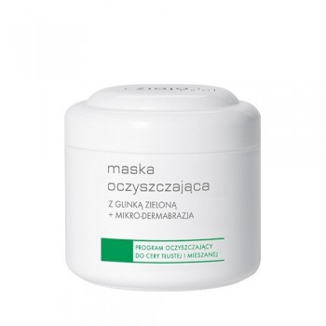 Ziaja Pro maska oczyszczająca z glinką zieloną+mikrodermobrazja 250ml