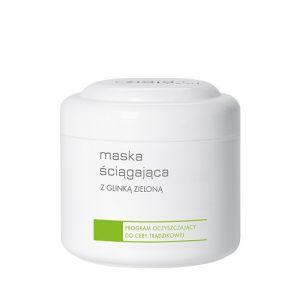 Ziaja Pro maska ściągająca z zieloną glinką 250 ml