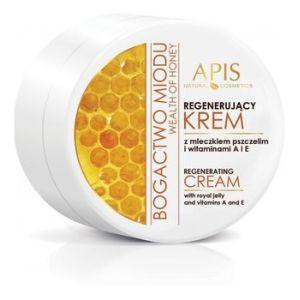 Apis Bogactwo Miodu Krem do twarzy regenerujący z mleczkiem pszczelim 110ml