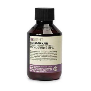 Insight Damaged Hair Restructurizing Shampoo Szampon odbudowujący do włosów zniszczonych 100ml