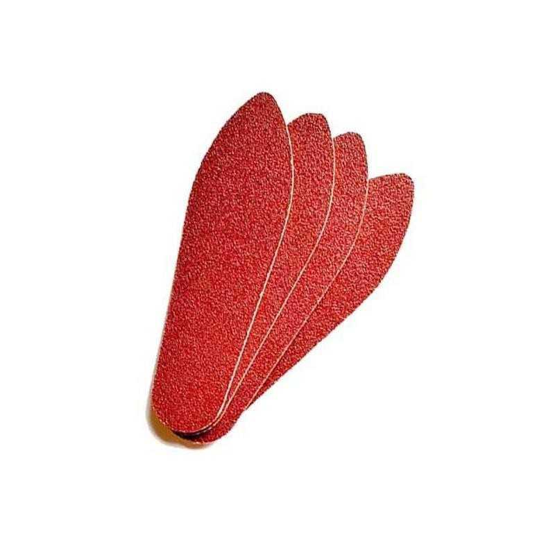 Nakładki na tarkę czerwone gradacja 150 100szt delikatne samoprzylepne