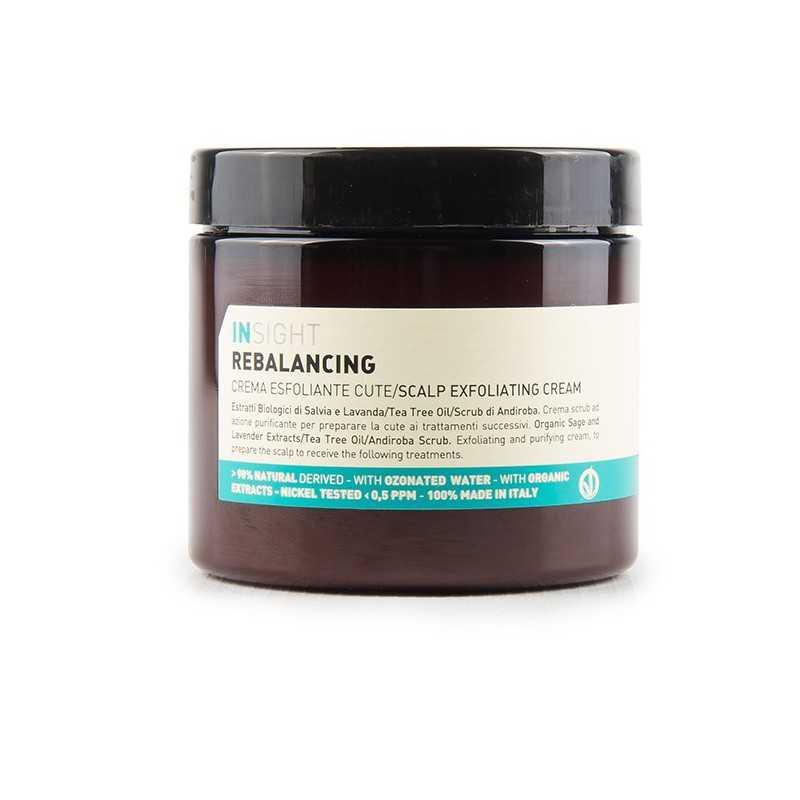 Peelingujący krem do skóry głowy 180ml Insight Rebalancing