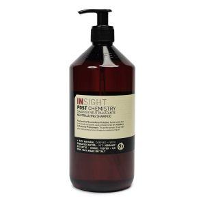 Insight Post Chemistry Szampon do włosów neutralizujący ph zamykający łuskę 900ml