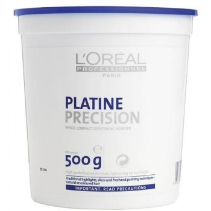 Loreal Platine Precision puder do częściowej dekoloryzacji włosów pasemka i balejaże 500g