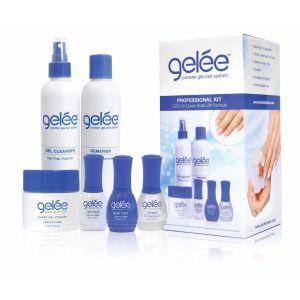 Gelée Powder Gel Nail System - Zestaw Profesjonalny