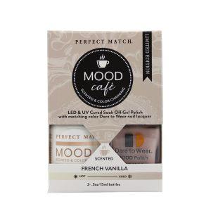 Zestaw lakierów klasyczny i hybrydowy PMMS001 Mood Cafe French Vanilla