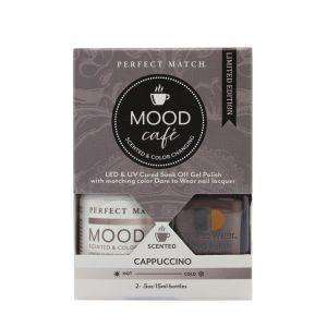Zestaw lakierów klasyczny i hybrydowy PMMS002 Mood Cafe Cappucino