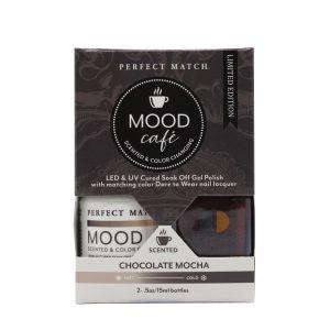 Zestaw lakierów klasyczny i hybrydowy PMMS003 Mood Cafe Chocolate Mocha